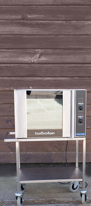 Turbo fan oven
