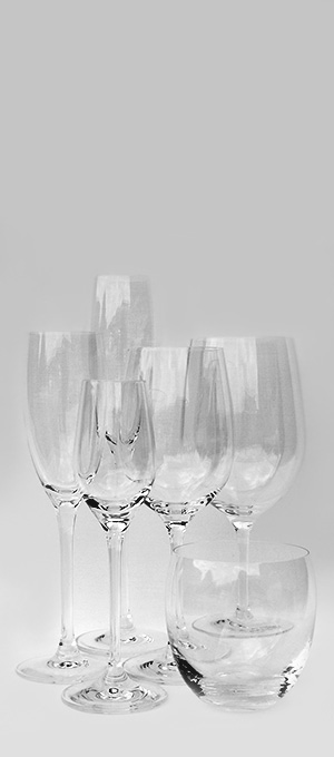 Ciao clear set of glassware