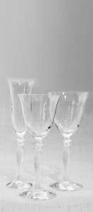 Clear glassware range