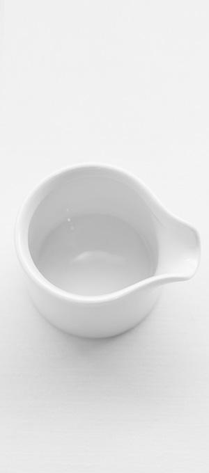 Individual sauce jug