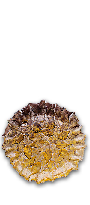 Charger plate Leaf