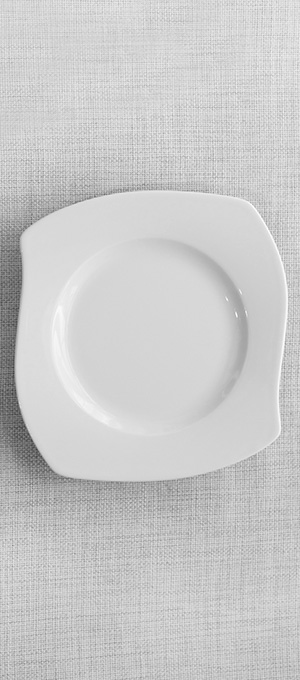 Main course plate