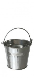 indiviual Zinc bucket