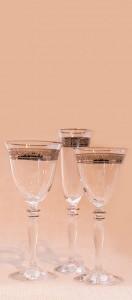 Platinum glassware range