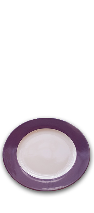 Charger plate Purple