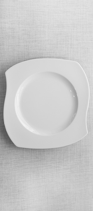 Starter dessert plate